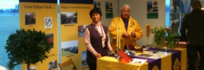 Lions Club Staffanstorps monter på Mat och Resmässan 21 jan 2012