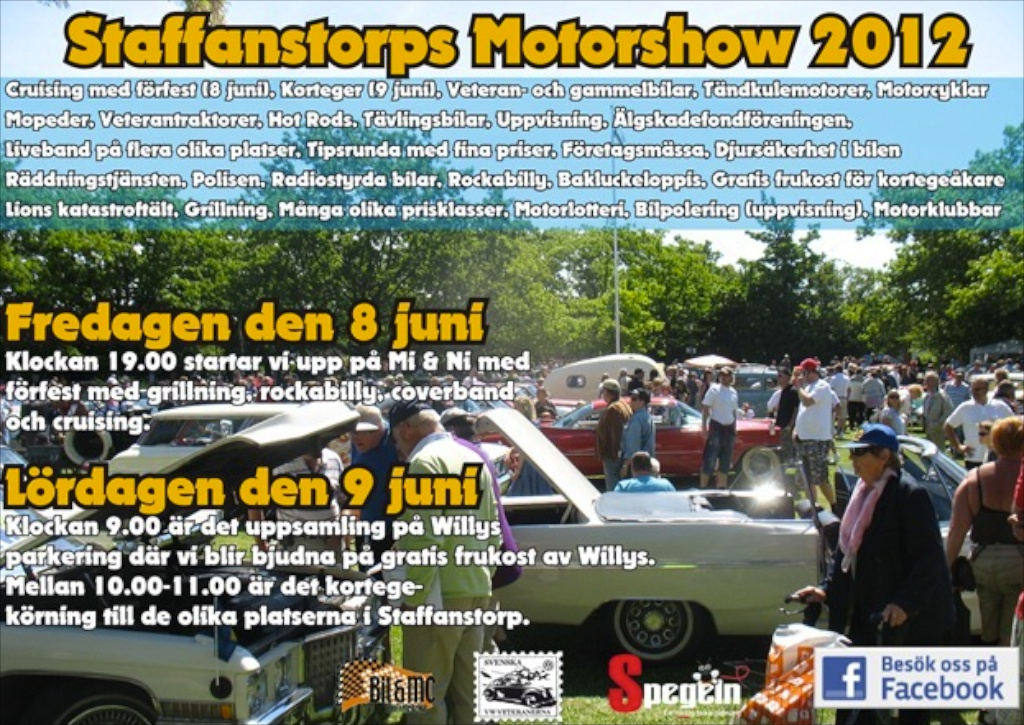 Staffanstorps Motorshow 2012