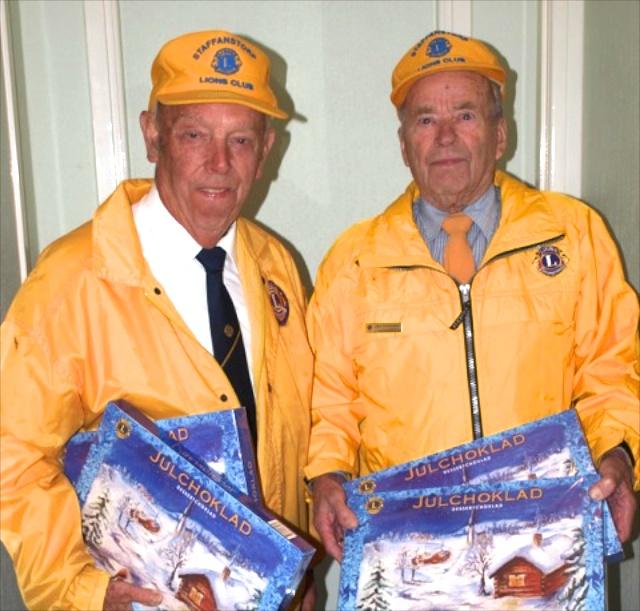 Lions club slutar efter 50 år med utdelningen av spettekakor och chokladaskar.