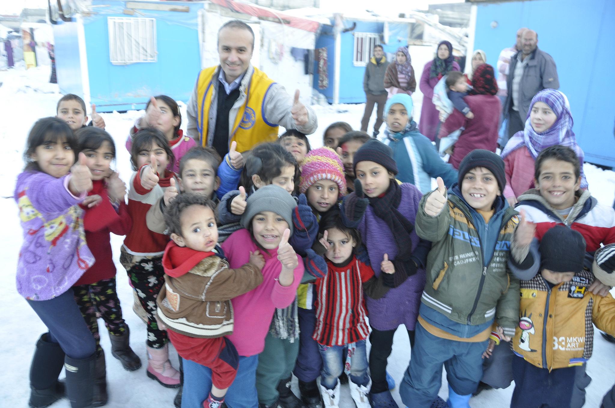 FLYKTINGKATASTROFEN I SYRIEN
