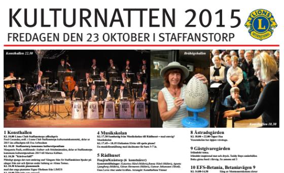 Program: Kulturnatten 2015