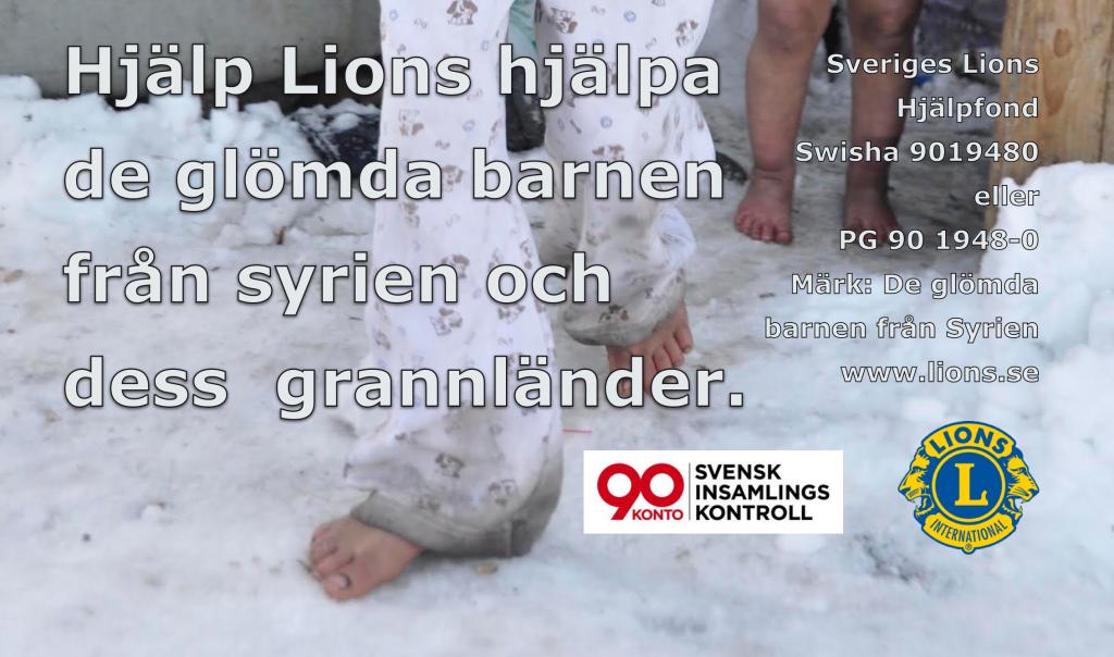 De glömda barnen från Syrien