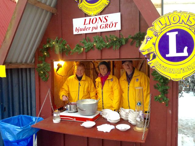 Lions Staffanstorp förbereder inför julhelgen