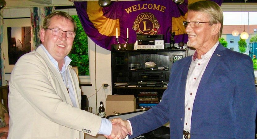 Presidentbyte i Lions Club Staffanstorp